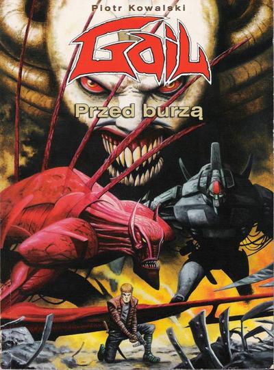 Cover for Gail (Egmont Polska, 2001 series) #1 - Przed burzą