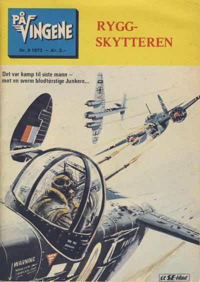 Cover for På Vingene (Serieforlaget / Se-Bladene / Stabenfeldt, 1963 series) #9/1973