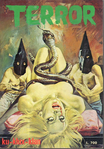 Cover for Terror (Ediperiodici, 1969 series) #98
