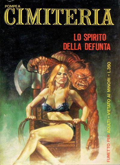 Cover for Cimiteria (Edifumetto, 1977 series) #45