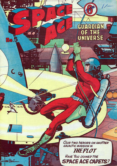 Cover for Space Ace (Atlas Publishing, 1960 series) #5
