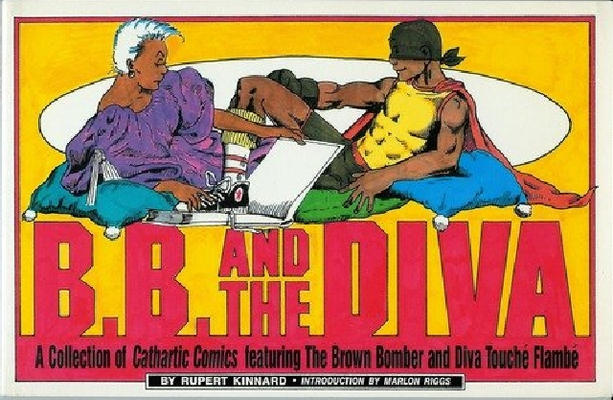 Cover for B. B. and the Diva (Alyson Publications, 1992 series)