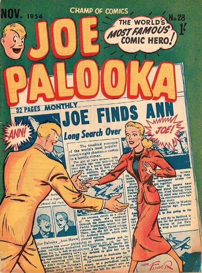 Cover for Joe Palooka (Magazine Management, 1952 series) #28