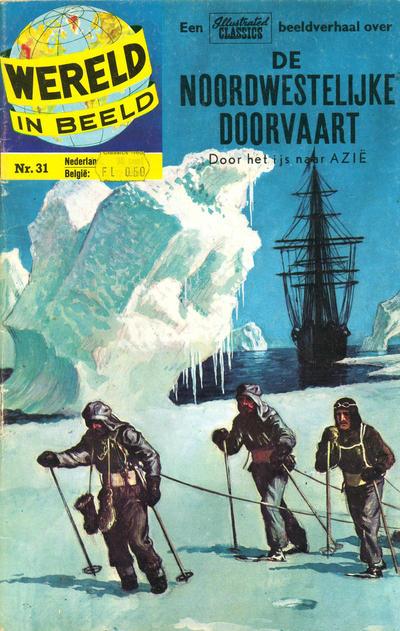 Cover for Wereld in beeld (Classics/Williams, 1960 series) #31 - De noordwestelijke doorvaart [Prijssticker]