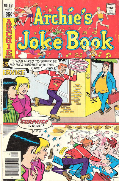 Cover for Archie's Joke Book Magazine (Archie, 1953 series) #251