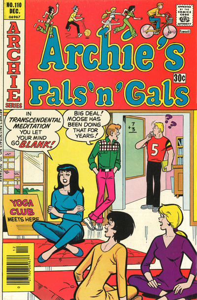 Cover for Archie's Pals 'n' Gals (Archie, 1952 series) #110