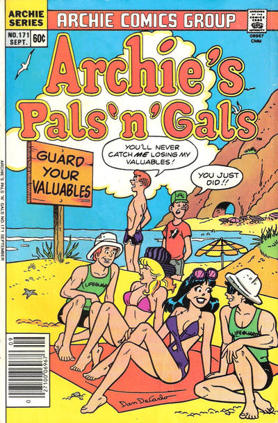 Cover for Archie's Pals 'n' Gals (Archie, 1952 series) #171