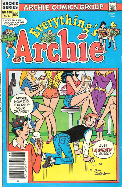 Cover for Everything's Archie (Archie, 1969 series) #108