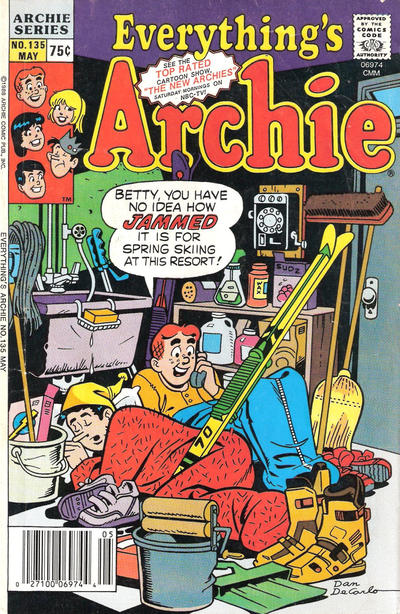 Cover for Everything's Archie (Archie, 1969 series) #135