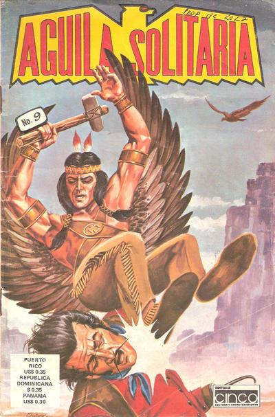 Cover for Aguila Solitaria (Editora Cinco, 1976 ? series) #9
