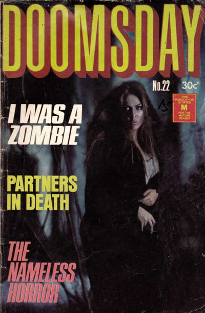 Cover for Doomsday (K. G. Murray, 1972 series) #22
