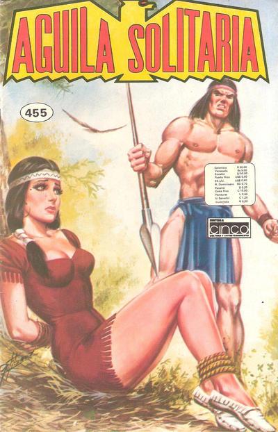 Cover for Aguila Solitaria (Editora Cinco, 1976 ? series) #455