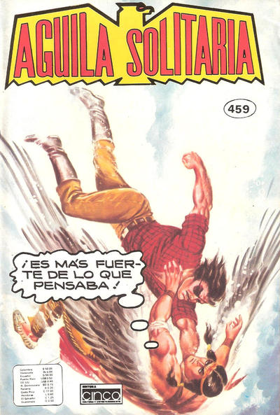 Cover for Aguila Solitaria (Editora Cinco, 1976 ? series) #459