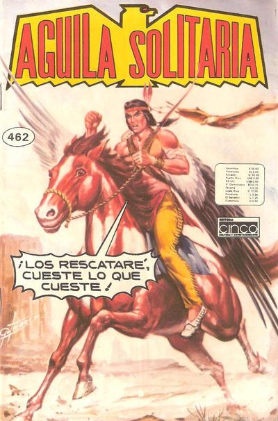Cover for Aguila Solitaria (Editora Cinco, 1976 ? series) #462