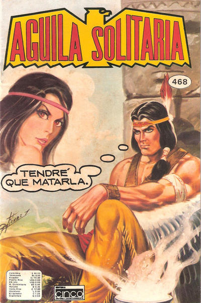 Cover for Aguila Solitaria (Editora Cinco, 1976 ? series) #468