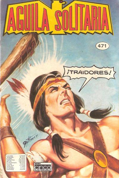 Cover for Aguila Solitaria (Editora Cinco, 1976 ? series) #471