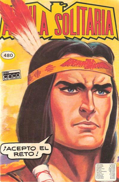 Cover for Aguila Solitaria (Editora Cinco, 1976 ? series) #480