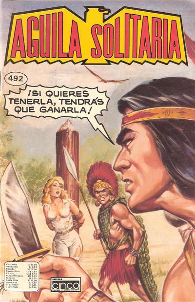 Cover for Aguila Solitaria (Editora Cinco, 1976 ? series) #492