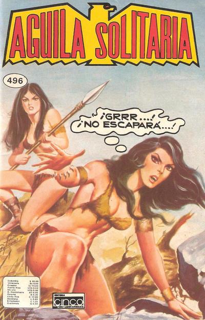 Cover for Aguila Solitaria (Editora Cinco, 1976 ? series) #496