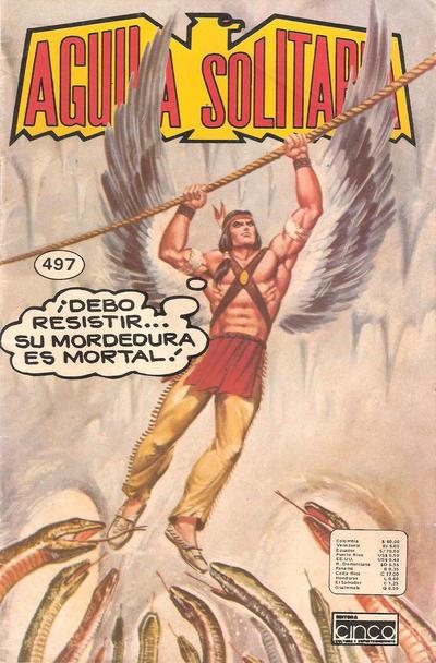 Cover for Aguila Solitaria (Editora Cinco, 1976 ? series) #497