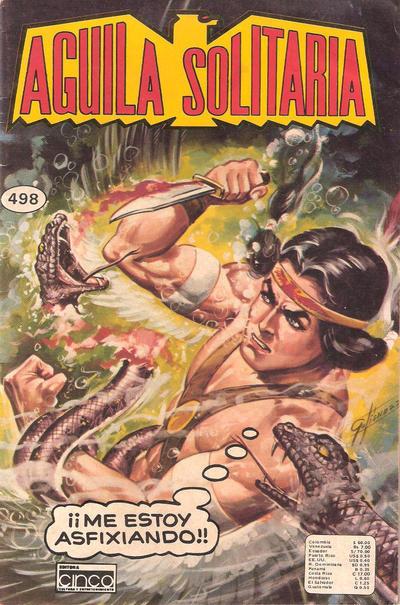 Cover for Aguila Solitaria (Editora Cinco, 1976 ? series) #498