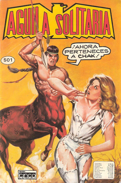 Cover for Aguila Solitaria (Editora Cinco, 1976 ? series) #501