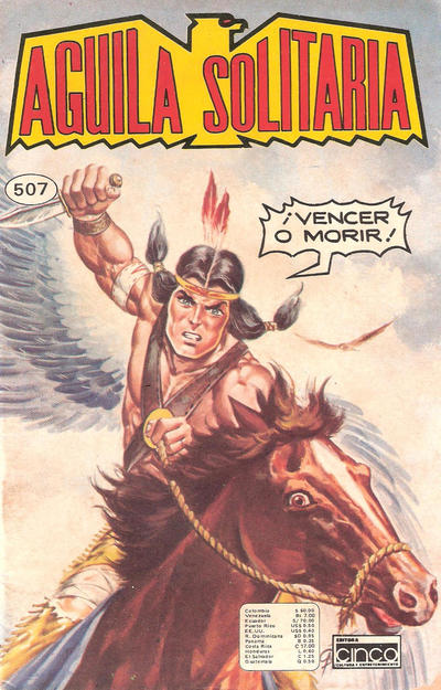 Cover for Aguila Solitaria (Editora Cinco, 1976 ? series) #507