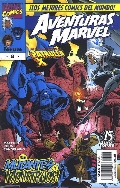 Cover for Aventuras Marvel (Planeta DeAgostini, 1998 series) #8