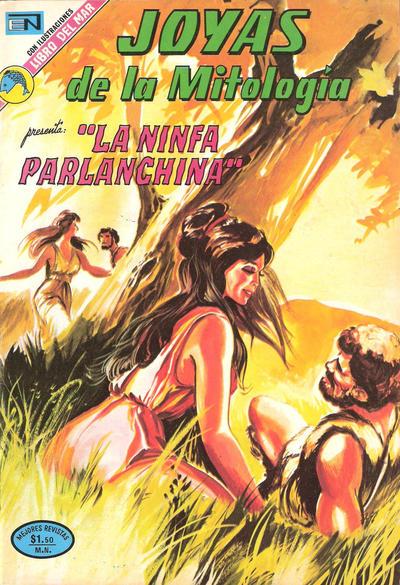 Cover for Joyas de la Mitología (Editorial Novaro, 1962 series) #220