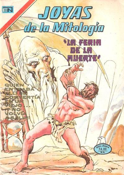 Cover for Joyas de la Mitología (Editorial Novaro, 1962 series) #443