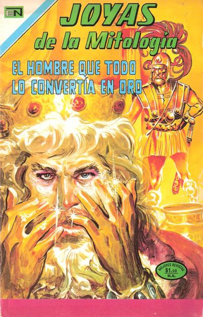 Cover for Joyas de la Mitología (Editorial Novaro, 1962 series) #250