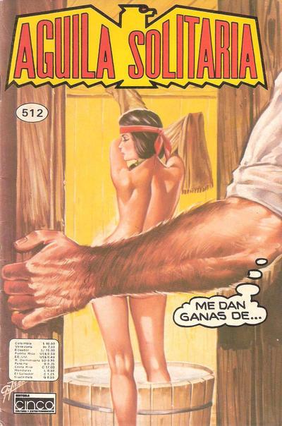Cover for Aguila Solitaria (Editora Cinco, 1976 ? series) #512