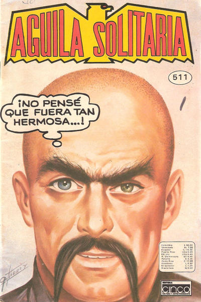 Cover for Aguila Solitaria (Editora Cinco, 1976 ? series) #511