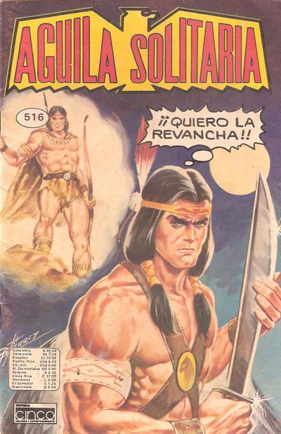 Cover for Aguila Solitaria (Editora Cinco, 1976 ? series) #516