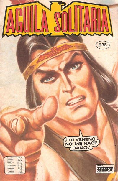 Cover for Aguila Solitaria (Editora Cinco, 1976 ? series) #535