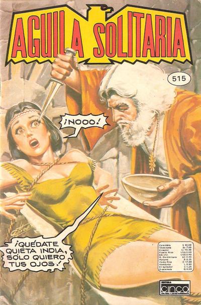 Cover for Aguila Solitaria (Editora Cinco, 1976 ? series) #515