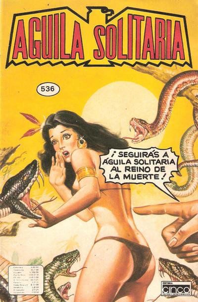Cover for Aguila Solitaria (Editora Cinco, 1976 ? series) #536