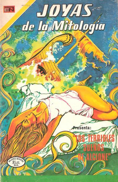 Cover for Joyas de la Mitología (Editorial Novaro, 1962 series) #249