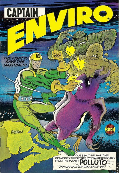 Cover for Captain Enviro (Comic Book World, 1972 series) #[nn]