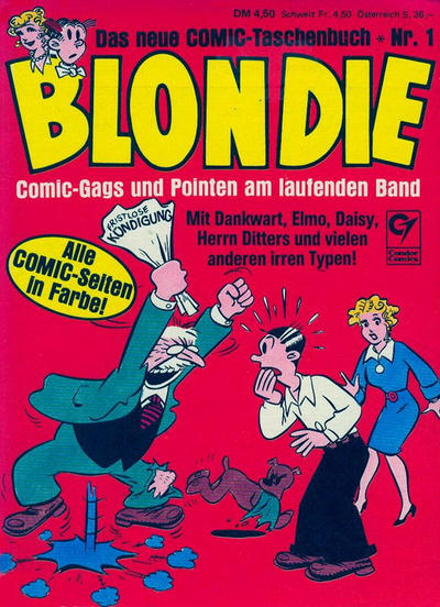 Cover for Blondie (Condor, 1980 series) #1