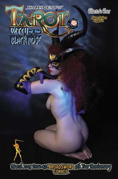 Cover for Tarot: Witch of the Black Rose (Broadsword, 2000 series) #31 [cover C]