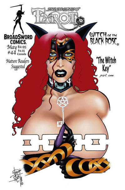 Cover for Tarot: Witch of the Black Rose (Broadsword, 2000 series) #44 [Cover B]