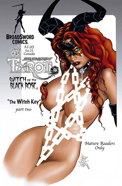Cover for Tarot: Witch of the Black Rose (Broadsword, 2000 series) #45
