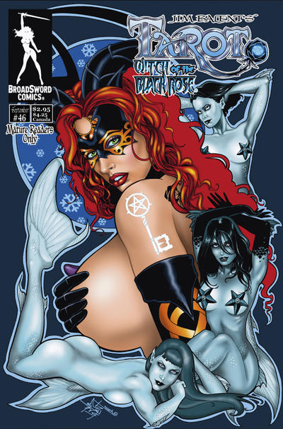 Cover for Tarot: Witch of the Black Rose (Broadsword, 2000 series) #46 [Cover A]