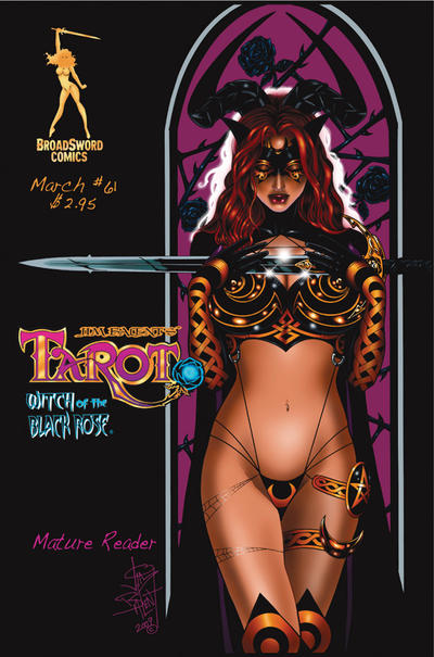Cover for Tarot: Witch of the Black Rose (Broadsword, 2000 series) #61 [Cover A]