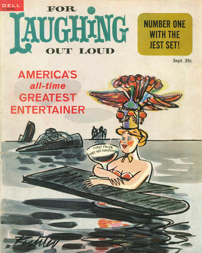 Cover for For Laughing Out Loud (Dell, 1956 series) #32