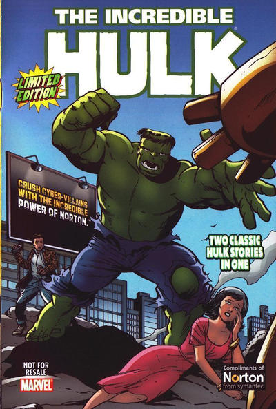 Cover for The Incredible Hulk (Norton Securities) (Marvel, 2008 series) #[nn]