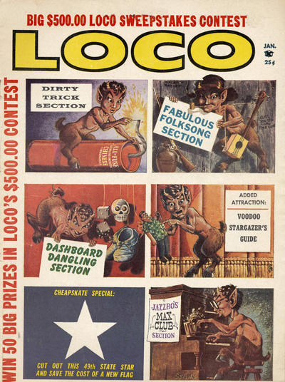 Cover for Loco (Satire Publications, 1958 series) #v1#3