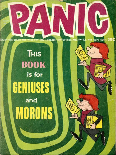 Cover for Panic (Panic Publications, 1958 series) #11