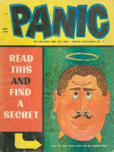 Cover for Panic (Panic Publications, 1958 series) #12